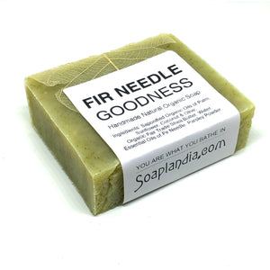Fir Needle Goodness Bar Soap, Organic