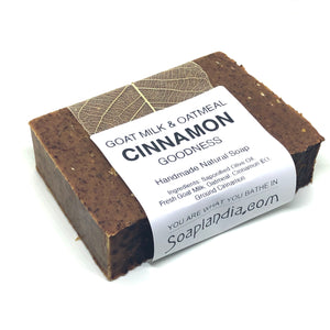 Goat Milk & Oatmeal Cinnamon Goodness Soap