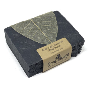 Charcoal Lavender Goodness Bar Soap, Organic