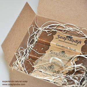 Assorted Natural Soaps, 3 Bars Set