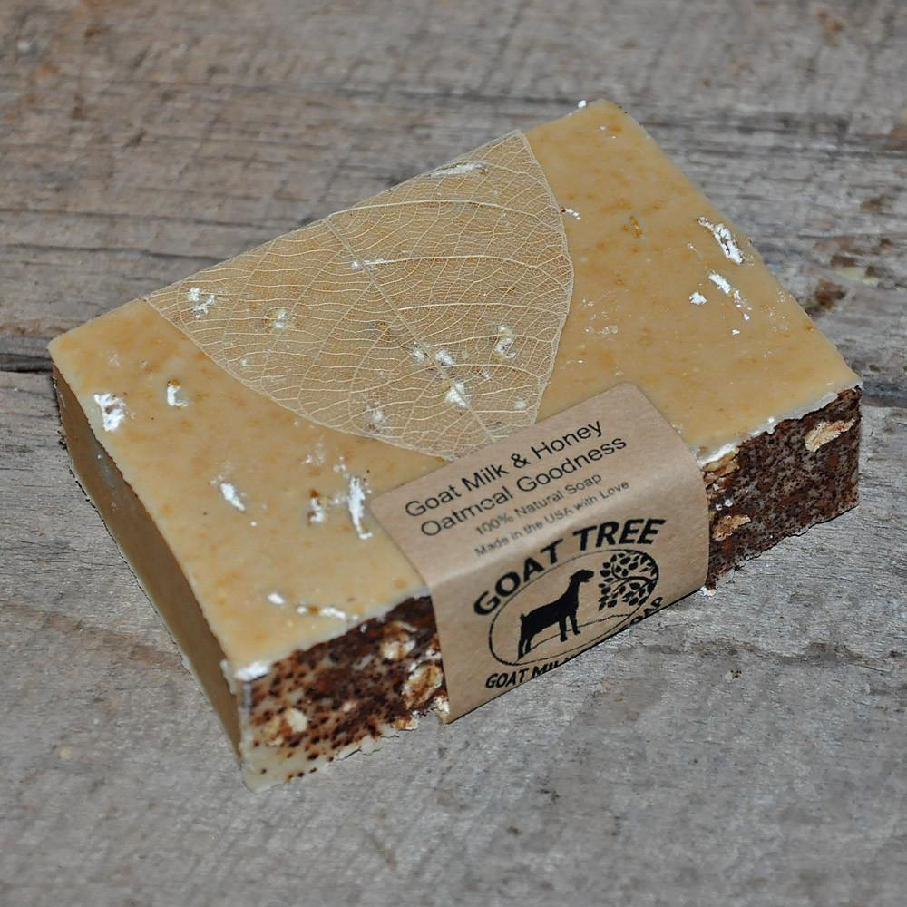 Goat Milk & Honey Oatmeal Goodness Soap (unscented)