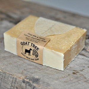 Goat Milk & Honey Lemon Goodness Soap