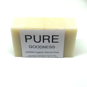 Pure Goodness Bar Soap, Organic