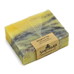 Bergamot Tea Bar Soap, Organic (New Item)