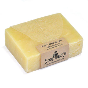 Wild Lemongrass Bar Soap, Organic