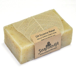 Dill Eczema Relief Bar Soap, Organic