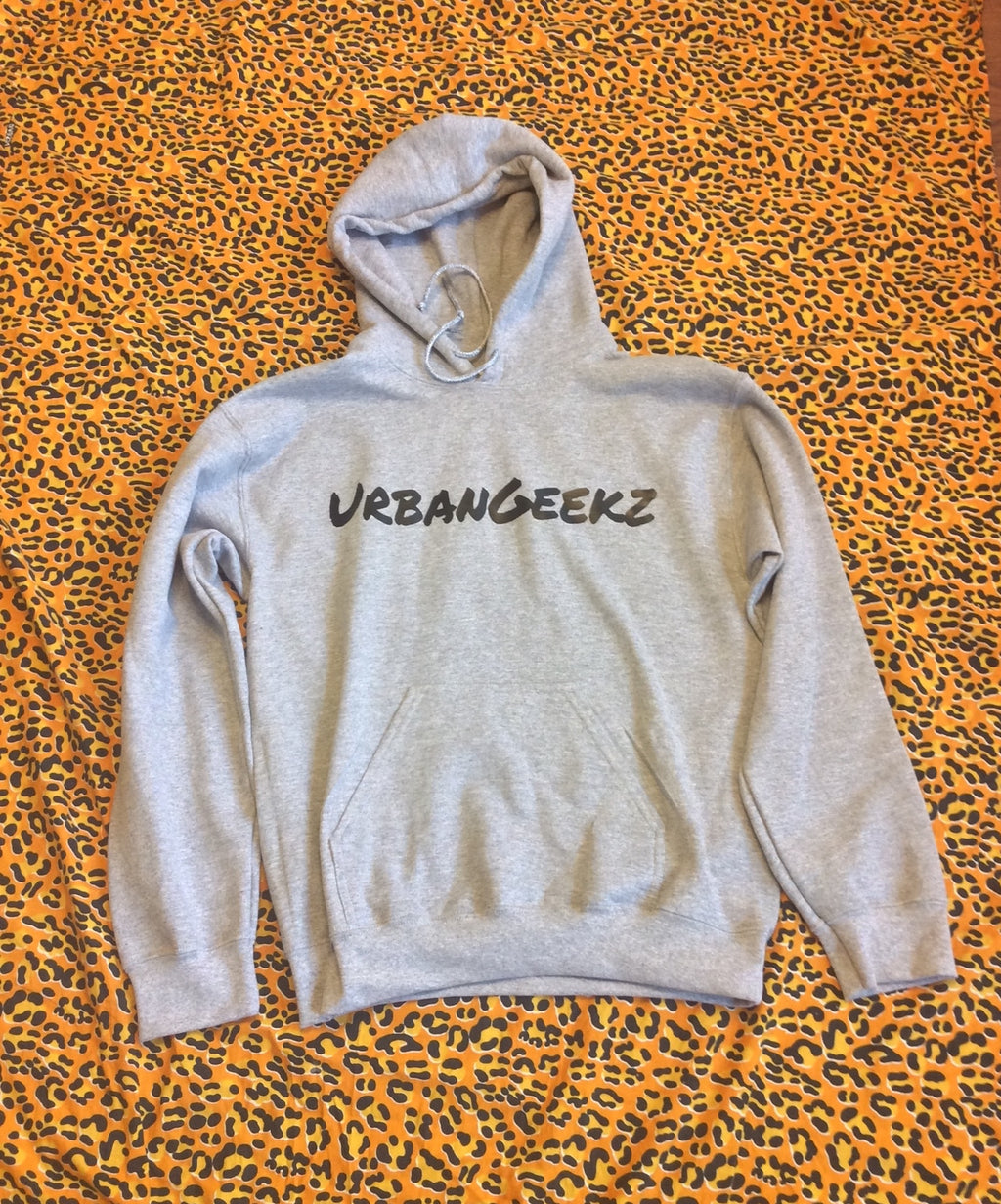 Grey UrbanGeekz Hooded Sweatshirt