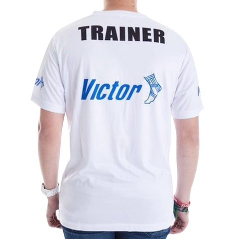 Victor Trainers  T-SHIRT - WHITE - Club Medical