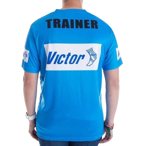 Victor Trainers  T-SHIRT - BLUE - Club Medical