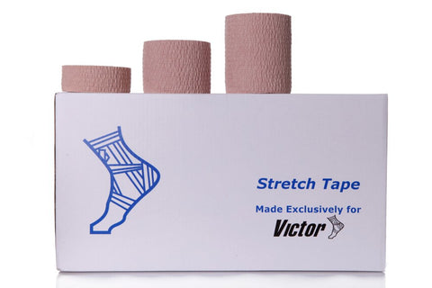 Victor Premium Trainers Hand Tear Stretch Tape 7.5cm X 6.8m - Club Medical