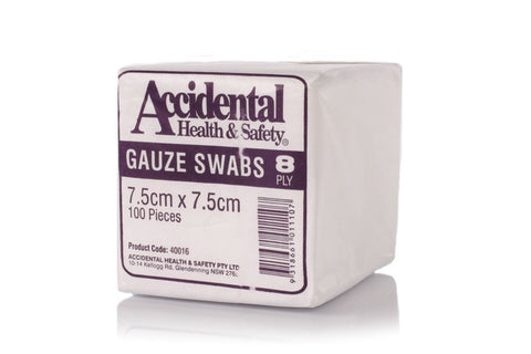 Gauze Swabs 7.5cm - Club Medical