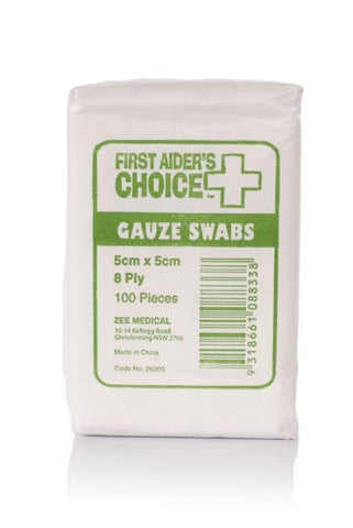 Gauze Swabs 5cm - Club Medical