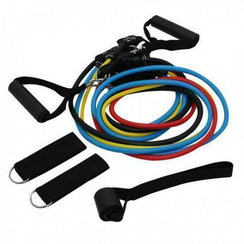 RESISTANCE TUBE MULTI SET - 11PCS