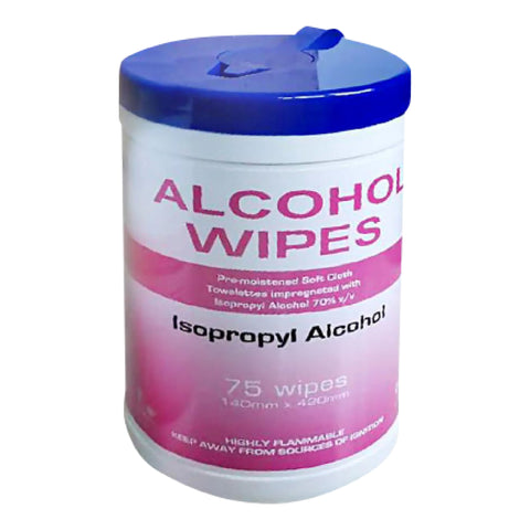 Isopropyl Alcohol Wipes - (75)