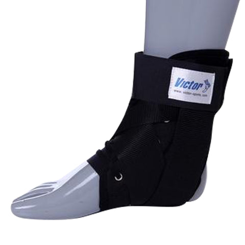Victor PRO Ankle Stabiliser - Black (L / 22 - 27cm) - Club Medical