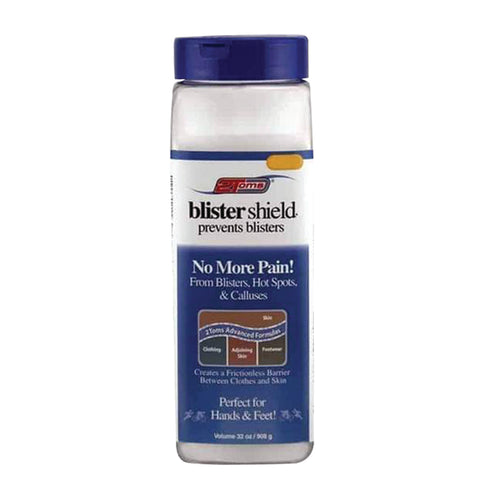 2TOMS Blistershield Powder 32oz SHAKER - Club Medical