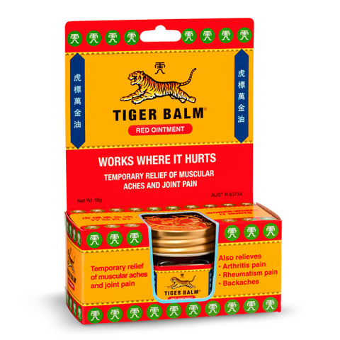Tiger Balm Red - Club Medical
