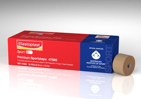 Elastoplast Premium Sport Tape Rigid 5cm X 10m - 20 rolls - Club Medical