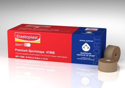 Elastoplast Premium Rigid Strapping Tape | 3.8cm X 10m - 30 Rolls - Club Medical