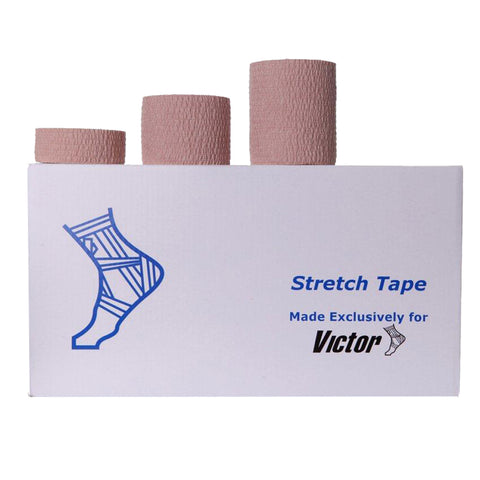 Victor Premium Trainers Hand Tear Stretch Tape 2.5cm X 6.9m - Club Medical