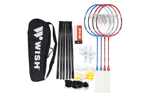 WISH BADMINTON SET - 4 PLAYER 5566