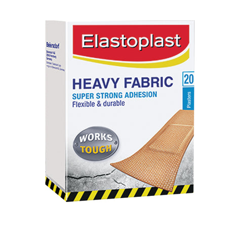 Elastoplast Heavy Fabric Plasters - 20 pack - Club Medical