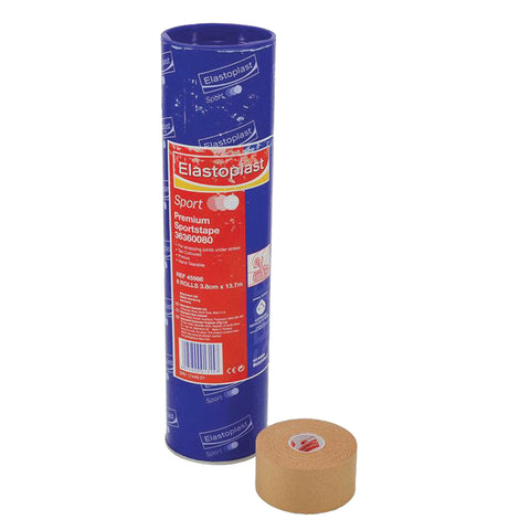 Elastoplast Rigid Strapping Tape 3.8cm X 10m - 8 Rolls - Club Medical