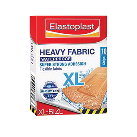 ELASTOPLAST STRIPS HEAVY FABRIC WATERPRO (10) - Club Medical