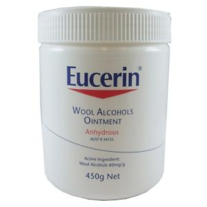 EUCERIN WOOL ALCOHOL OINTMENT 450G - Club Medical