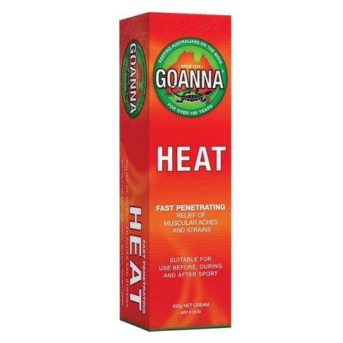 Goanna Heat Cream - Club Medical