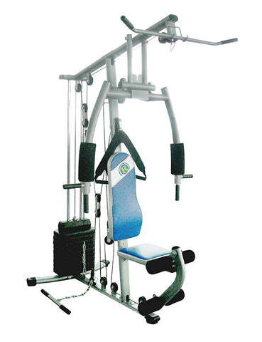 Home Gym with 70KG of Plastic Weights - Club Medical