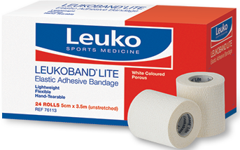 LEUKOBAND LITE  EAB 5CM X 3.5M BOX 24 RO - Club Medical
