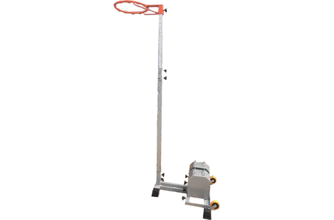 ALLIANCE NETBALL STAND PORTABLE DELUXE - WEIGHTS NOT INCLUDED - Club Medical