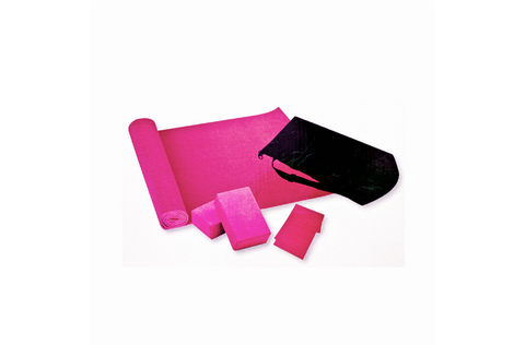 RINGMASTER YOGA SET PINK - Club Medical