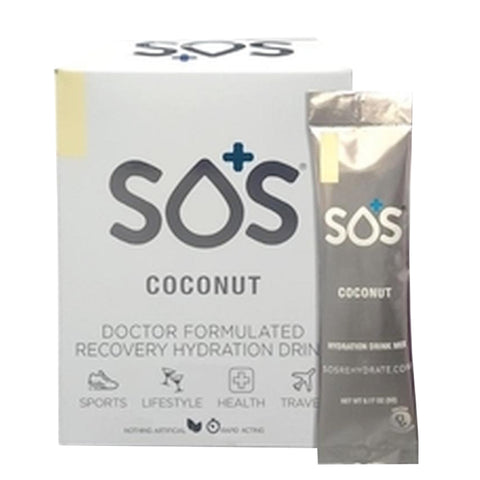 SOS Rehydrate Coconut-10 Pack - Club Medical