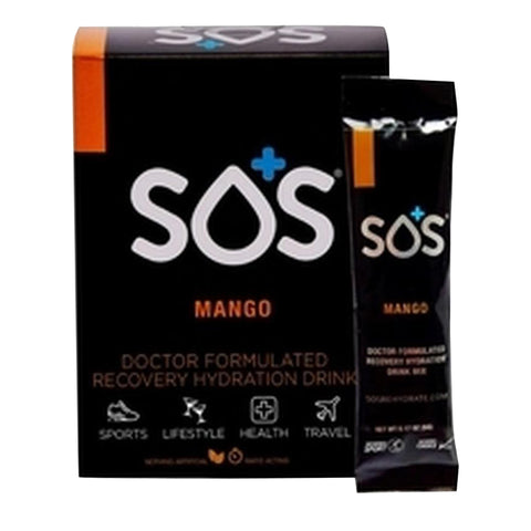 SOS Rehydrate Mango-10 Pack - Club Medical