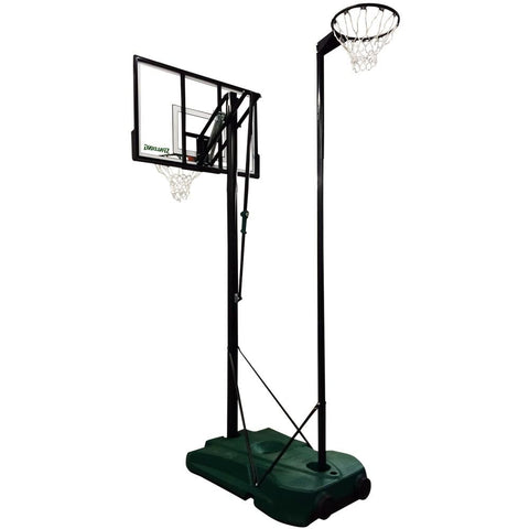 Spalding 48 Inch DOUBLE PLAY - PORTABLE BASKETBALL & NETBALL SYSTEM - Club Medical