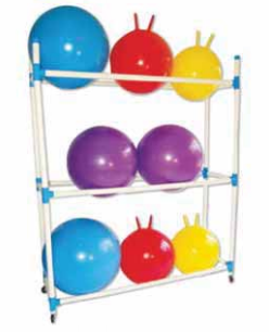 Storage Racks- Big Ball Caddy - Club Medical