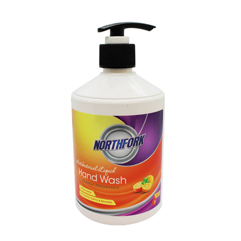 Northfork Liquid Hand Wash Orange Fragrance 500 ML - Club Medical