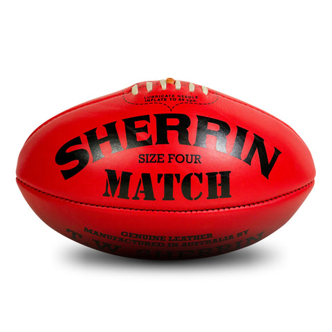 Sherrin Match Football - Size 4 - Club Medical