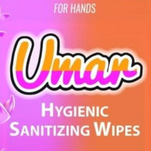Load image into Gallery viewer, UMAR Hygienic Sanitizing Wipes