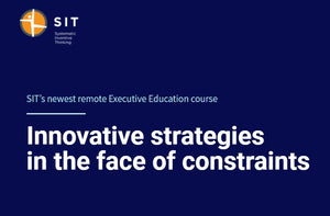Innovative strategies in the face of constraints