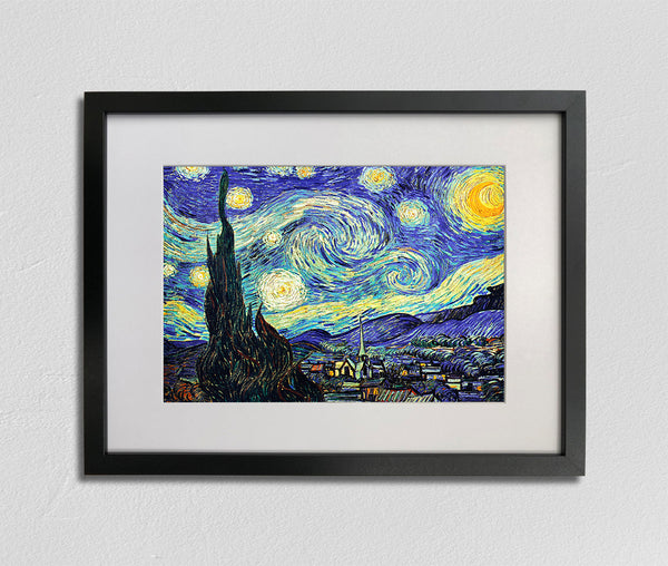 Starry Night (1889), Vincent van Gogh