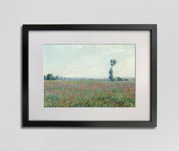 Poppy Field (1881), Claude Monet