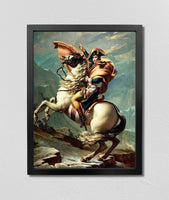 Napoleon Crossing the Alps (1801), Jacques-Louis David