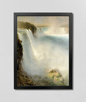 Niagara Falls, from the American Side (1867), Frederic Edwin Church