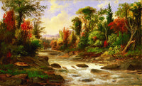 On the St. Annes, East Canada (1865), Robert S. Duncanson