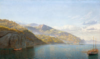 Massa, Bay of Naples (1864), John Brett