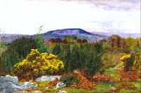 Spring, Arnside Knot and Coniston range of hills from Warton Crag (1863), Daniel Alexander Williamson