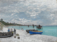 The Beach at Sainte-Adresse (1867), Claude Monet